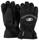 Ziener Kinder ski handschoenen largo met gore-tex zwart