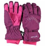 Ziener Meisjes ski handschoenen leandra water- en windproof paars