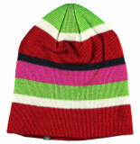Color Kids Rose violet kindermuts gerdi model beanie van acryl / wol roze