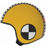 Egg Helmets Skin sam om over de basis helm te dragen geel