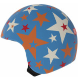 Egg Helmets Skin venus om over de basis helm te dragen blauw