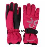 Color Kids Rasberry kinder ski handschoenen savoy roze