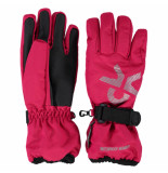 Color Kids Rasberry kinder ski handschoenen savoy roze