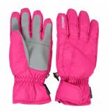 Ziener Ski handschoenen kind lati met pluche voering roze