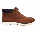 Timberland Chukka leather veterschoenen bruin