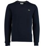Lacoste Sh7613 pullovers 83% katoen / 17% polyester blauw