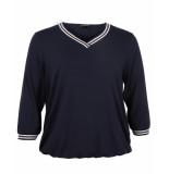 Via Appia Due T-shirt 649856 blauw