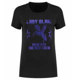 Nikkie T-shirt n6-711 glam foil zwart