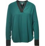 G-Star Ogee v-neck straight shirt wmn l\s groen