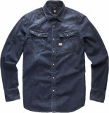 G-Star 3301 slim shirt l\s denim