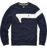 G-Star Graphic 13 r sweat blauw