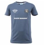 Black Bananas F.c basic tee blauw