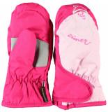 Ziener Kinderwanten leneige mini's met ruime klittebandsluiting roze