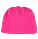 O'Neill / zwarte fleece kindermuts aan 2 zijden te dragen roze