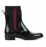 Tommy Hilfiger Knitted rain boot zwart