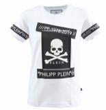 Philipp Plein T-shirt round neck ss tm wit