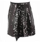 Reinders Skirt sequins zwart