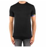 Dsquared2 Round neck t-shirt zwart