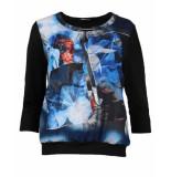 Frank Walder T-shirt w93110427 blauw