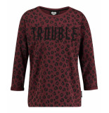Catwalk Junkie Sweater enfant terrible dark ruby