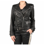Reinders Leather jacket zwart