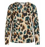 VILA T-shirt 14055962 vijolie zilver