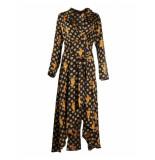 Colourful Rebel Vally Cheetah blazer dress zwart