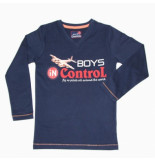Boys in Control 501 navy shirt