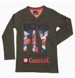 Boys in Control 503a khaky shirt