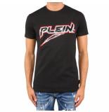 Philipp Plein T-hirt platinum cut round neck zwart