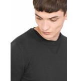 Antony Morato Knit pullover o neck black zwart