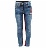 Monnalisa Jeans bande interne blauw