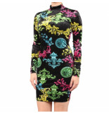 Versace Lady dress udm926 zwart