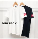 Dsquared2 2 pack t-shirts zwart