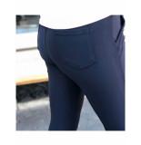 Jantje Korten Fashion Tregging / jogpants stretch navy blauw