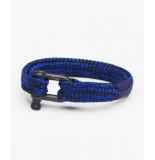 Pig & Hen P14-fw19-261904 armband gorgeous george cobalt - black