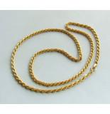Christian 14 karaat gouden tors collier geel goud