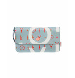 Oilily Clutch mhf groovy letters - blauw