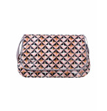 Oilily Diaper bag lori geometrical rose- roze
