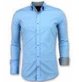 Gentile Bellini Slim fit overhemd mannen blauw