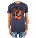 Dsquared2 T-shirt blauw