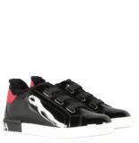 Dolce and Gabbana Kids Sneaker bassa zwart