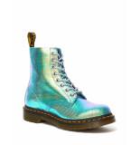 Dr. Martens 1460 pascal blue iridescent texture blauw