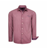 PME Legend Poplin print quentin very grape rood