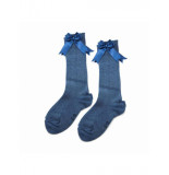 iN ControL 876-2 knee socks BLUE
