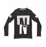 Name It T-shirt 13177129 nkmrome zwart