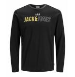 Jack & Jones T-shirt 12159241 jcomondo zwart