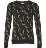 Geisha Sweaters 93890-41 zwart