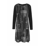 DIDI Fijne a-lijn jurk zwart