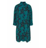 DIDI Lange blouse met all over print blauw